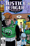 Cover for Justice League America (DC, 1989 series) #53 [Direct]