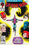 Cover for Spider-Man (Marvel, 1990 series) #25 [Direct]