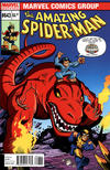 Cover for The Amazing Spider-Man (Marvel, 1999 series) #643 [Super Hero Squad Variant Cover]