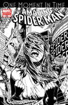 Cover for The Amazing Spider-Man (Marvel, 1999 series) #639 [Black-and-White Variant Edition]