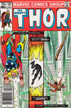 Cover for Thor (Marvel, 1966 series) #324 [Newsstand]