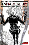 Cover Thumbnail for Anna Mercury (2008 series) #3 [Design Sketch]