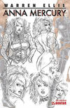 Cover for Anna Mercury (Avatar Press, 2008 series) #1 [Design Sketch]