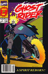 Cover Thumbnail for Ghost Rider (1990 series) #1 [Newsstand Edition]