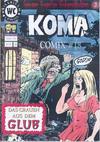 Cover for Koma Comix (Weissblech Comics, 1993 series) #18