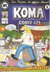 Cover for Koma Comix (Weissblech Comics, 1993 series) #21