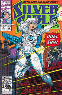 Cover Thumbnail for Silver Sable and the Wild Pack (Marvel, 1992 series) #3 [Direct]