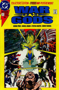 Cover Thumbnail for War of the Gods (DC, 1991 series) #2 [Collector's Edition]