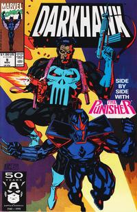 Cover Thumbnail for Darkhawk (Marvel, 1991 series) #9 [Direct]