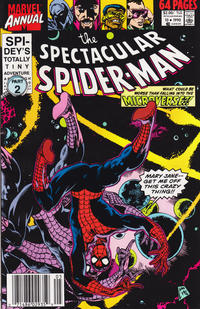 Cover Thumbnail for The Spectacular Spider-Man Annual (Marvel, 1979 series) #10 [newsstand]