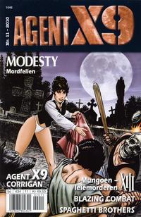 Cover Thumbnail for Agent X9 (Hjemmet / Egmont, 1998 series) #11/2010