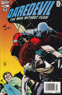 Cover for Daredevil (Marvel, 1964 series) #342 [Direct Edition]