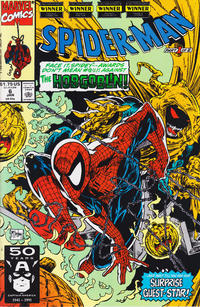 Cover Thumbnail for Spider-Man (Marvel, 1990 series) #6 [Direct]