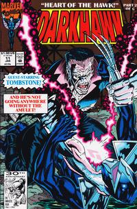 Cover Thumbnail for Darkhawk (Marvel, 1991 series) #11 [Direct]