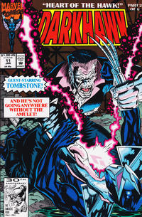 Cover Thumbnail for Darkhawk (Marvel, 1991 series) #11 [Direct]