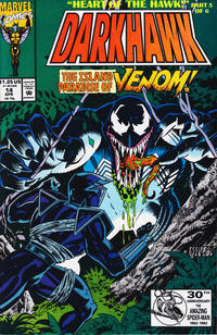 Cover Thumbnail for Darkhawk (Marvel, 1991 series) #14 [Direct]