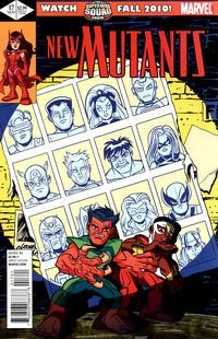 Cover Thumbnail for New Mutants (Marvel, 2009 series) #17 [Super Hero Squad Variant]