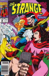 Cover for Doctor Strange, Sorcerer Supreme (Marvel, 1988 series) #35 [Direct Edition]
