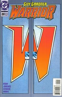 Cover Thumbnail for Guy Gardner: Warrior (DC, 1994 series) #29 [Cover B]