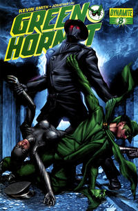Cover for Green Hornet (Dynamite Entertainment, 2010 series) #8 [Negative Art Retailer Incentive - Alex Ross]