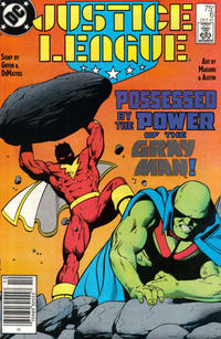 Cover Thumbnail for Justice League (DC, 1987 series) #6 [Newsstand]