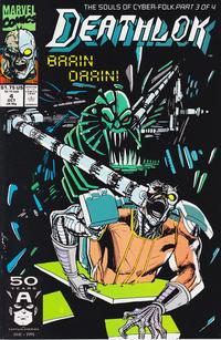 Cover Thumbnail for Deathlok (Marvel, 1991 series) #4 [Direct]