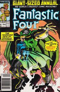 Cover Thumbnail for Fantastic Four Annual (Marvel, 1963 series) #20 [Newsstand Edition]