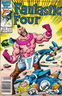 Cover Thumbnail for Fantastic Four (Marvel, 1961 series) #298 [Newsstand Edition]