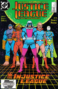 Cover Thumbnail for Justice League International (DC, 1987 series) #23 [Direct]
