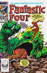 Cover Thumbnail for Fantastic Four (Marvel, 1961 series) #264 [Direct Edition]