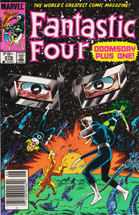 Cover Thumbnail for Fantastic Four (Marvel, 1961 series) #279 [Canadian Newsstand Edition]