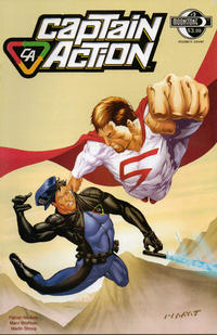 Cover Thumbnail for Captain Action Comics (Moonstone, 2008 series) #3