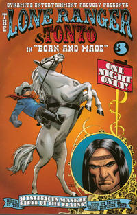 Cover Thumbnail for The Lone Ranger & Tonto (Dynamite Entertainment, 2008 series) #3