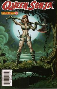 Cover Thumbnail for Queen Sonja (Dynamite Entertainment, 2009 series) #2 [Jackson Herbert Cover]