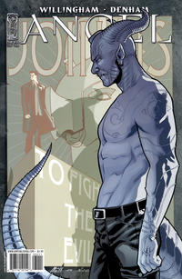 Cover Thumbnail for Angel (IDW, 2009 series) #32 [Cover B - David Messina]