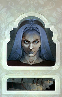 Cover Thumbnail for Angel (IDW, 2009 series) #32 [Retailer Incentive Cover - Jenny Frison Virgin Variant (1 in 10)]