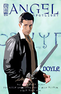 Cover Thumbnail for Angel: Doyle (IDW, 2006 series)  [Russell Walks]