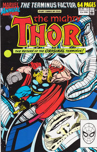 Cover Thumbnail for Thor Annual (Marvel, 1966 series) #15 [Direct]