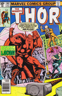 Cover Thumbnail for Thor (Marvel, 1966 series) #302