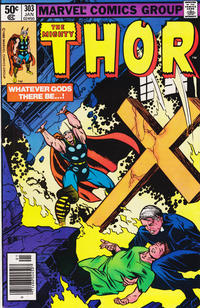 Cover Thumbnail for Thor (Marvel, 1966 series) #303 [Newsstand]