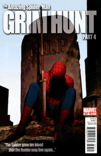 Cover Thumbnail for The Amazing Spider-Man (Marvel, 1999 series) #637 [50/50 - Olivier Coipel Cover]