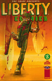 Cover Thumbnail for The CBLDF Presents: Liberty Comics (Image, 2008 series) #2