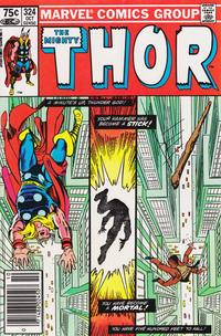 Cover Thumbnail for Thor (Marvel, 1966 series) #324 [Canadian]