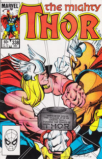 Cover Thumbnail for Thor (Marvel, 1966 series) #338 [Direct]