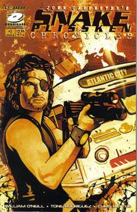 Cover Thumbnail for John Carpenter's Snake Plissken Chronicles (CrossGen, 2003 series) #1 [Cover A]
