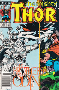 Cover Thumbnail for Thor (Marvel, 1966 series) #349 [Canadian Price Variant]