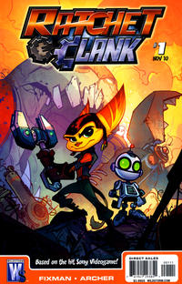 Cover Thumbnail for Ratchet & Clank (DC, 2010 series) #1