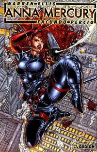 Cover Thumbnail for Anna Mercury (Avatar Press, 2008 series) #1 [Wraparound Juan Jose Ryp]