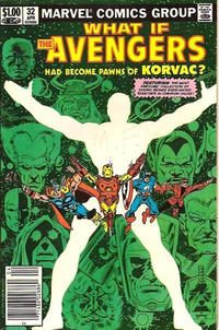 Cover Thumbnail for What If? (Marvel, 1977 series) #32 [Newsstand Edition]