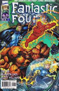 Cover Thumbnail for Fantastic Four (Marvel, 1996 series) #1 [Cover A]
